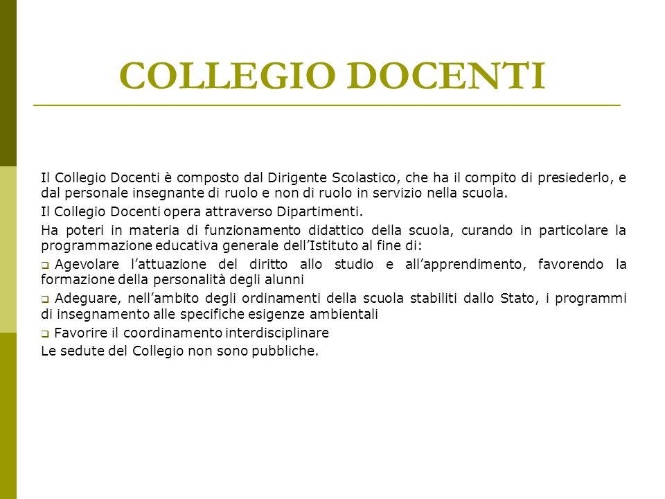 COLLEGIO DOCENTI
