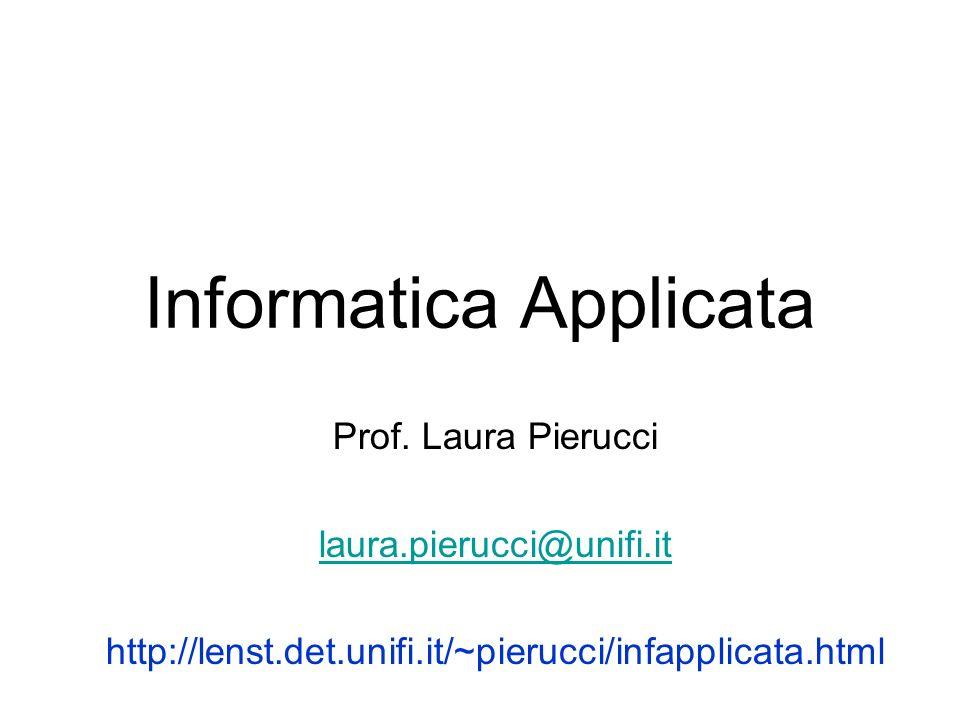 Informatica Applicata