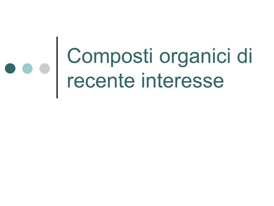 Composti organici di recente interesse