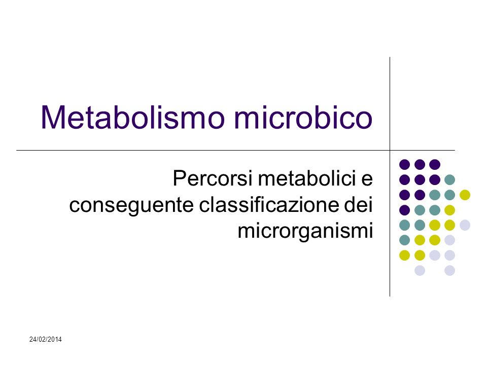 Metabolismo microbico