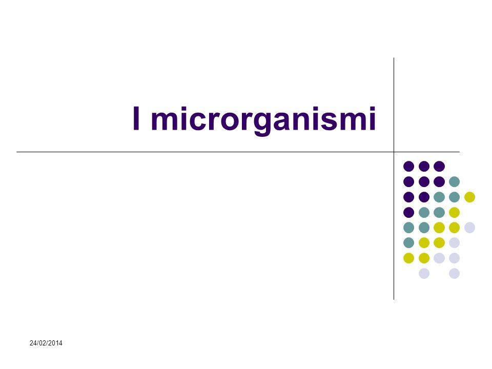I microrganismi 27/03/2017