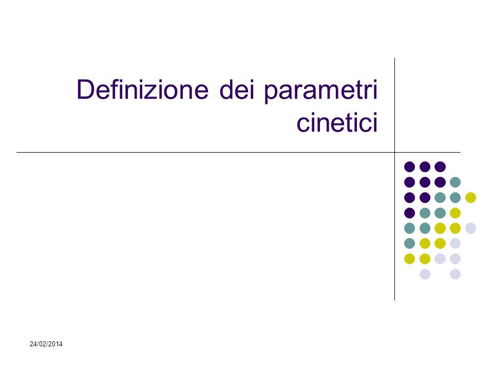 Definizione dei parametri cinetici