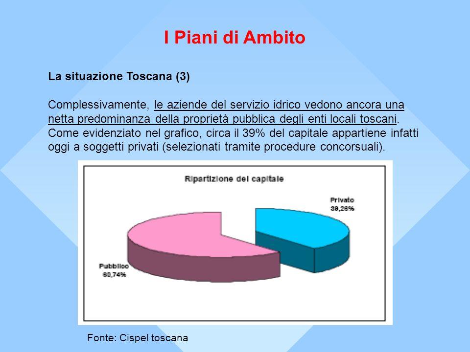 I Piani di Ambito La situazione Toscana (3)