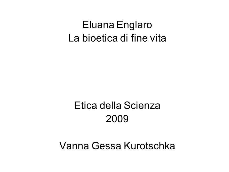 La bioetica di fine vita