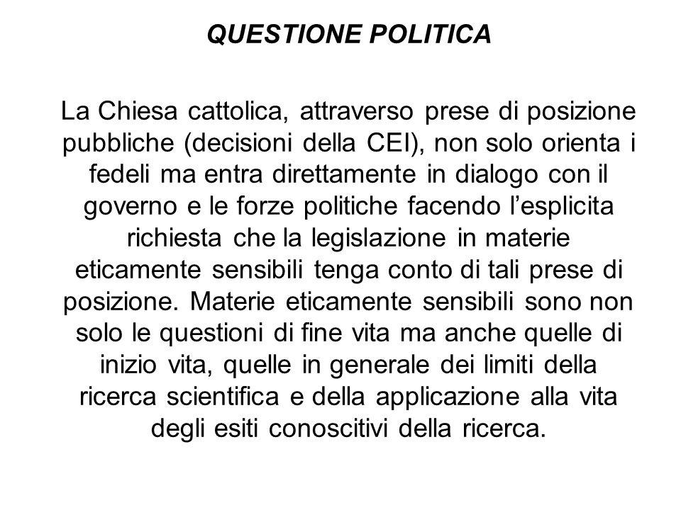 QUESTIONE POLITICA