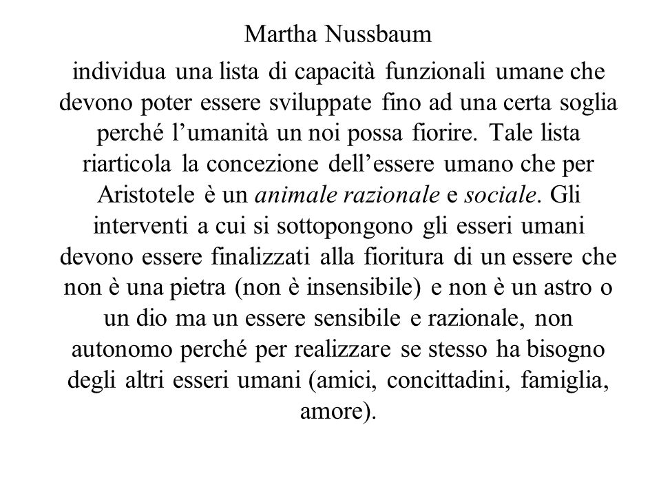 Martha Nussbaum