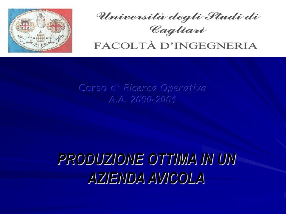 Corso di Ricerca Operativa A.A. 2000-2001