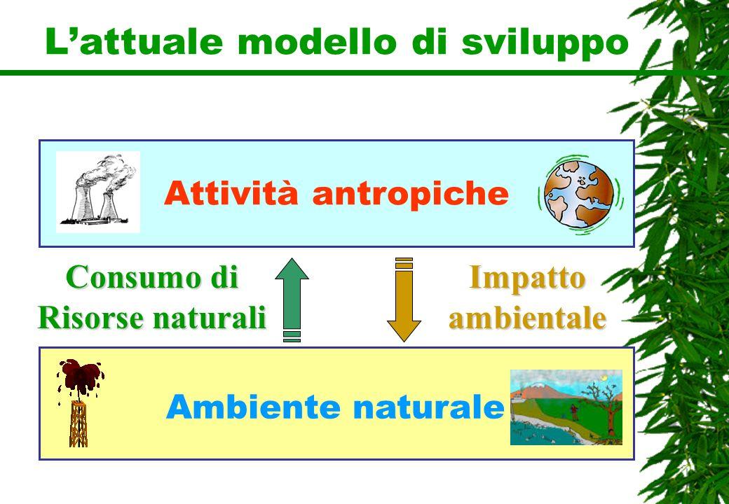 L'attuale modello di sviluppo