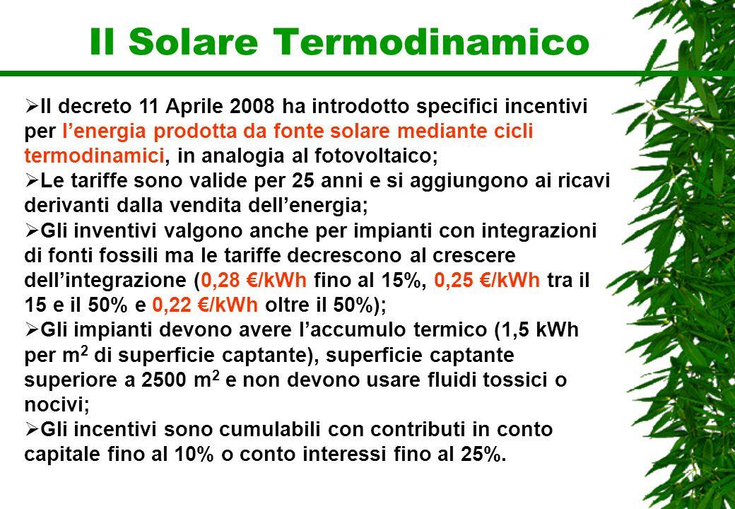 Il Solare Termodinamico