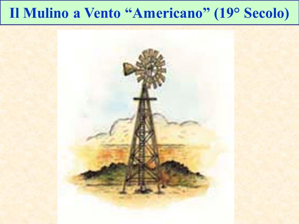 Il Mulino a Vento Americano (19° Secolo)