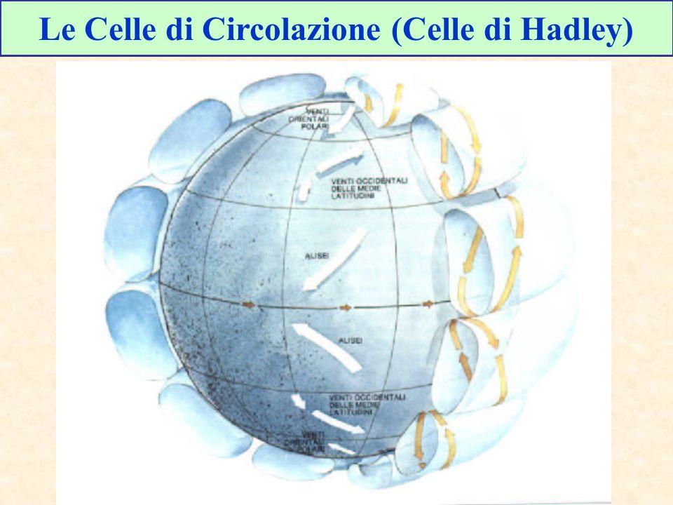 Le Celle di Circolazione (Celle di Hadley)