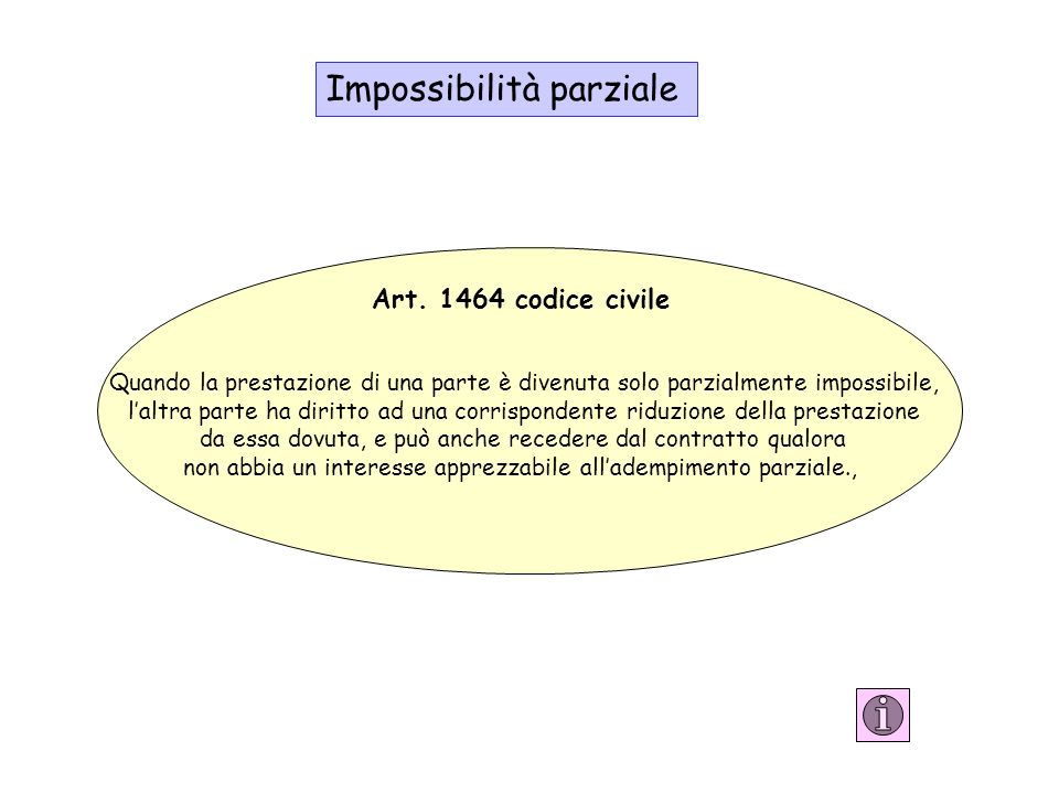 Impossibilità parziale