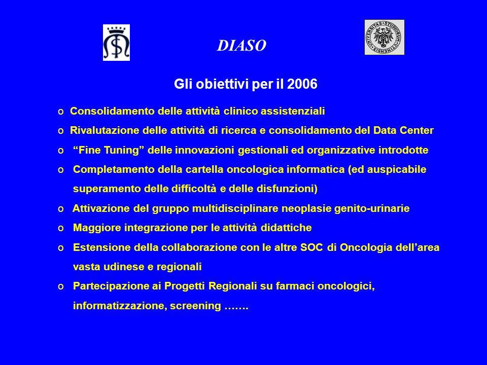 DIASO Gli obiettivi per il 2006