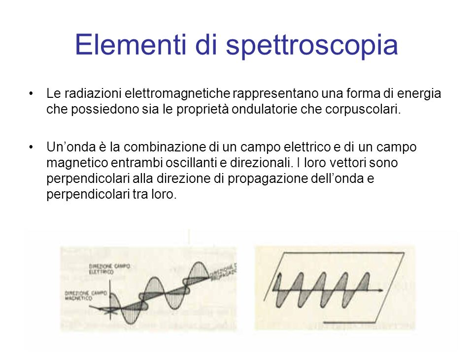 Elementi di spettroscopia
