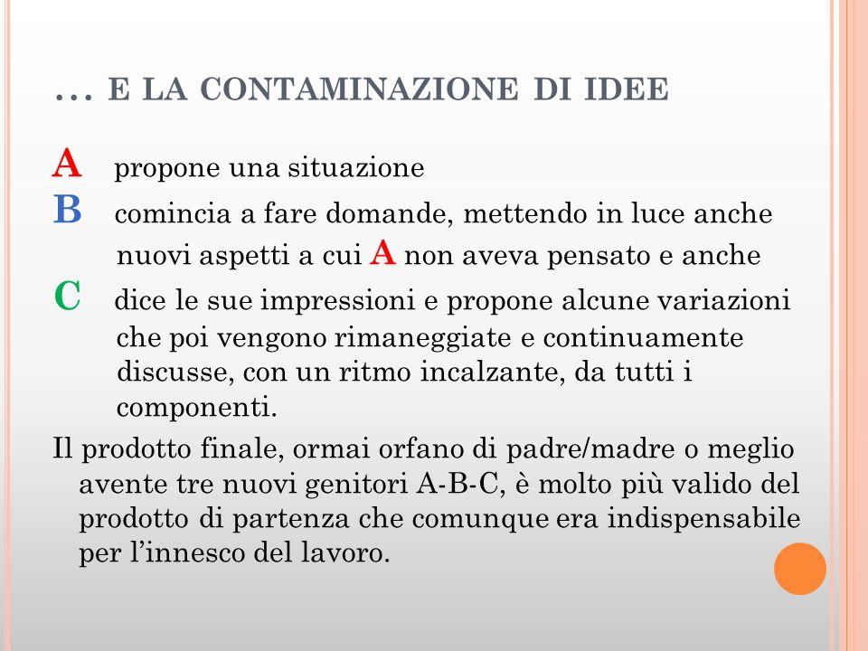 … e la contaminazione di idee