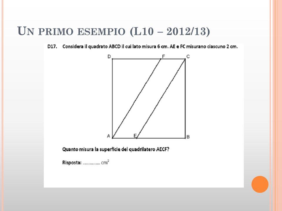 Un primo esempio (L10 – 2012/13)