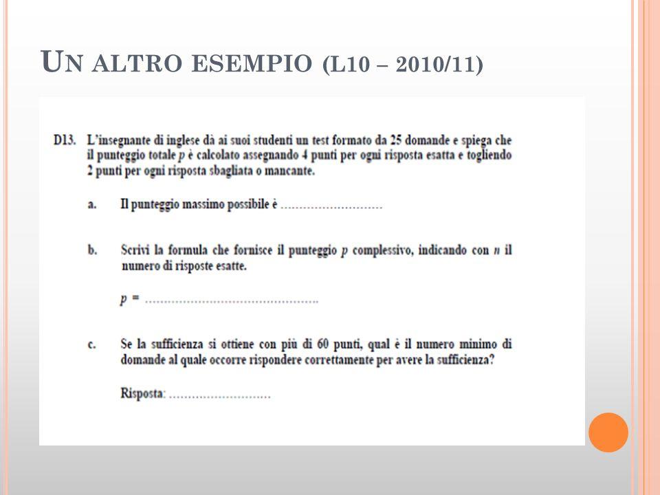 Un altro esempio (L10 – 2010/11)