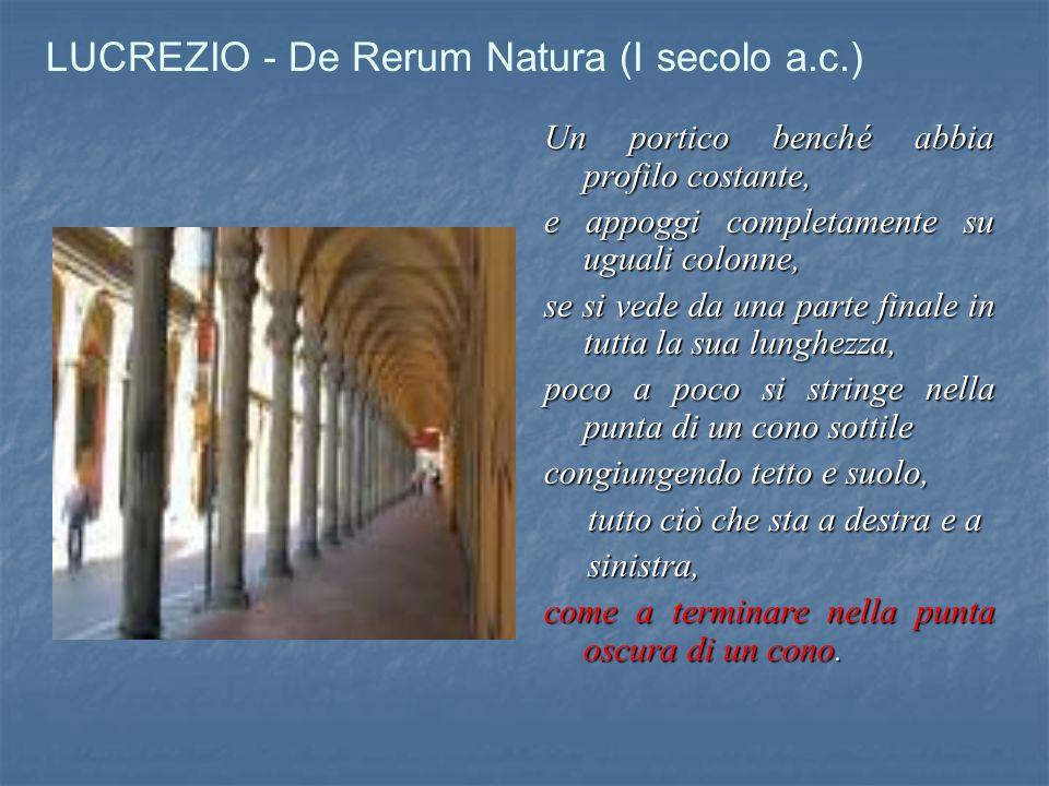 LUCREZIO - De Rerum Natura (I secolo a.c.)