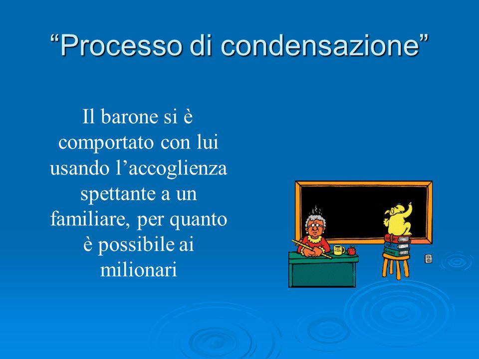 Processo di condensazione
