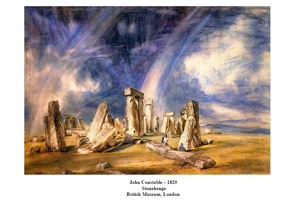 John Constable – 1820 Stonehenge British Museum, London