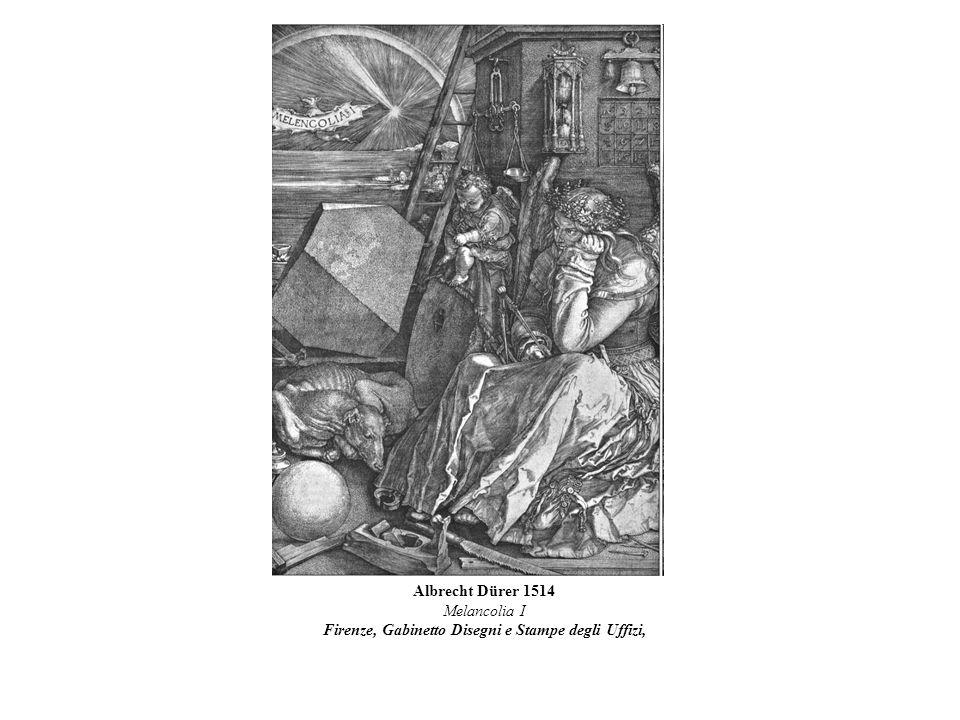 Melancolia I Firenze, Gabinetto Disegni e Stampe degli Uffizi,