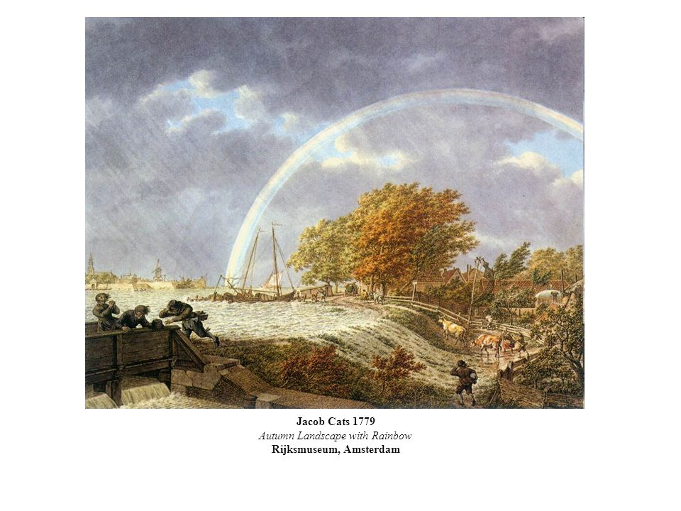 Autumn Landscape with Rainbow Rijksmuseum, Amsterdam