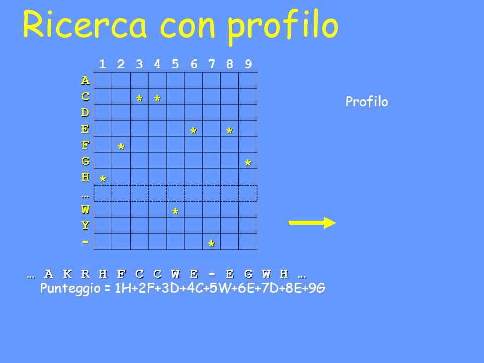 Ricerca con profilo 1 2 3 4 5 6 7 8 9 A C D E F G H … W Y - K R *