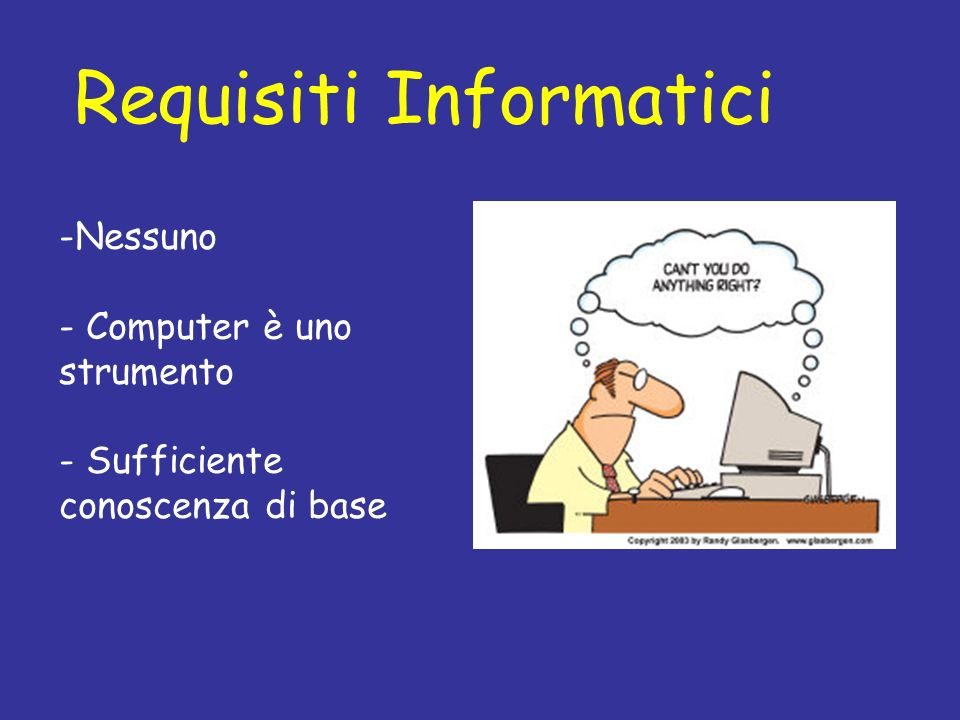 Requisiti Informatici