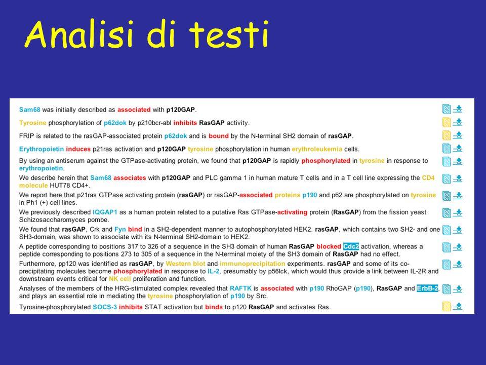 Analisi di testi