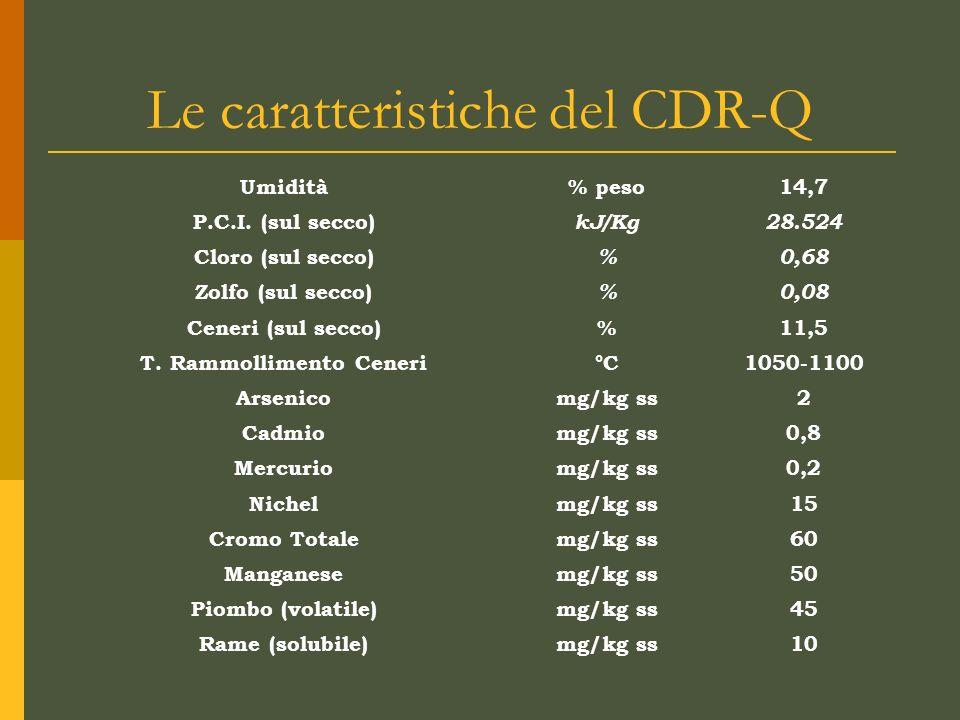 Le caratteristiche del CDR-Q