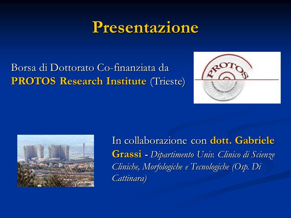 Presentazione Borsa di Dottorato Co-finanziata da
