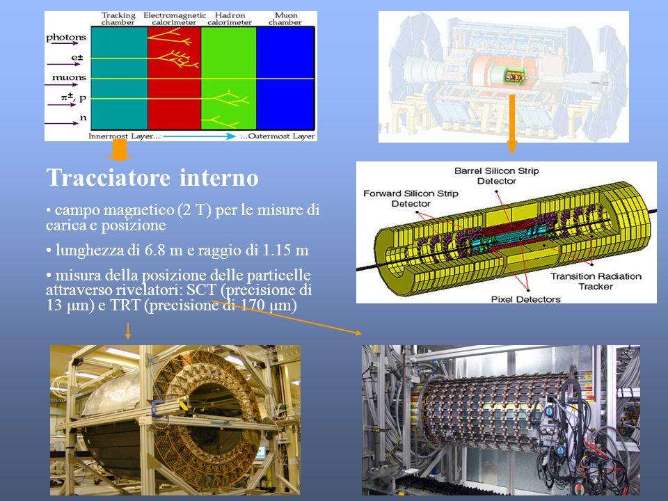 Tracciatore interno lunghezza di 6.8 m e raggio di 1.15 m