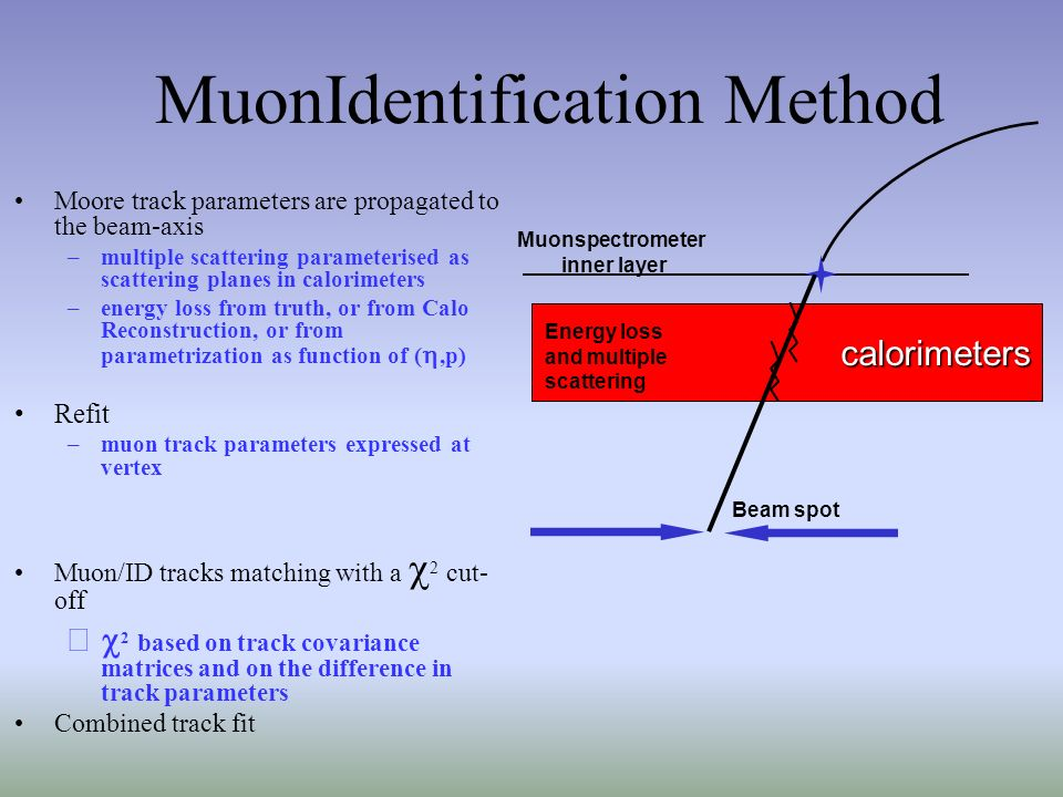 MuonIdentification Method