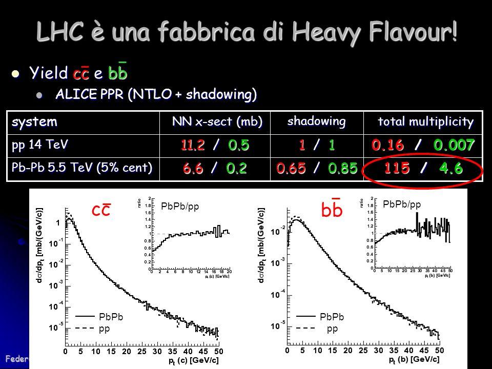LHC è una fabbrica di Heavy Flavour!