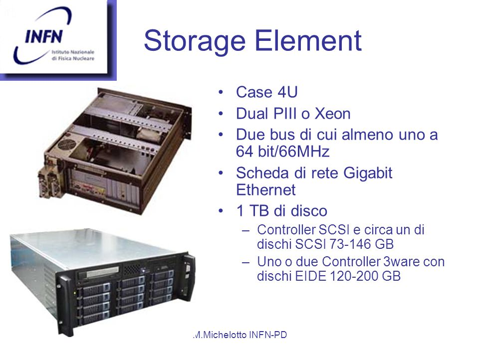 Storage Element Case 4U Dual PIII o Xeon
