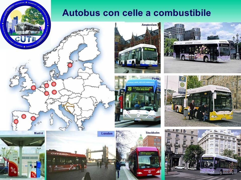 Autobus con celle a combustibile