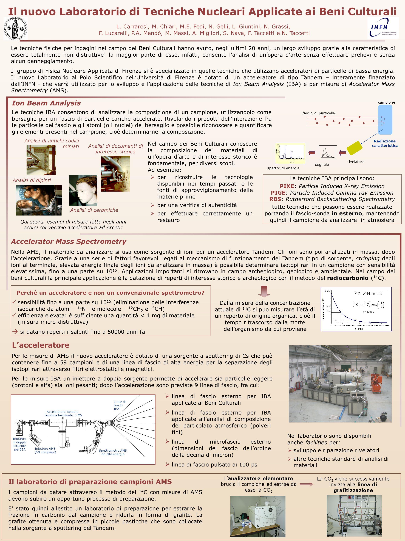 Il nuovo Laboratorio di Tecniche Nucleari Applicate ai Beni Culturali