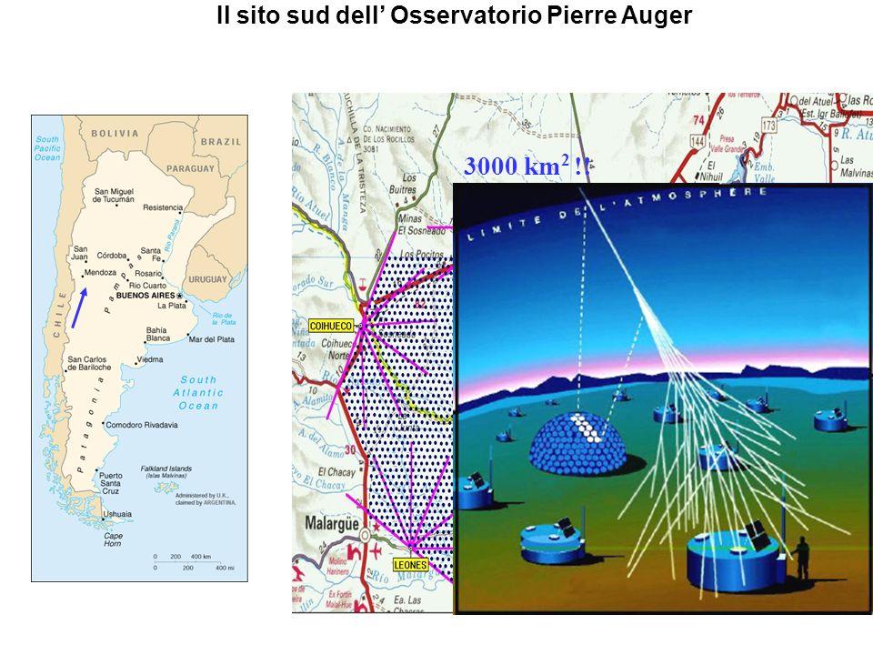 Il sito sud dell' Osservatorio Pierre Auger