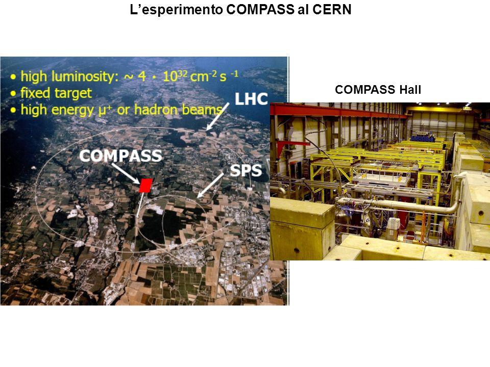 L'esperimento COMPASS al CERN
