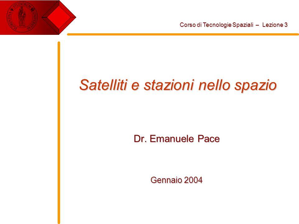 Satelliti e stazioni nello spazio