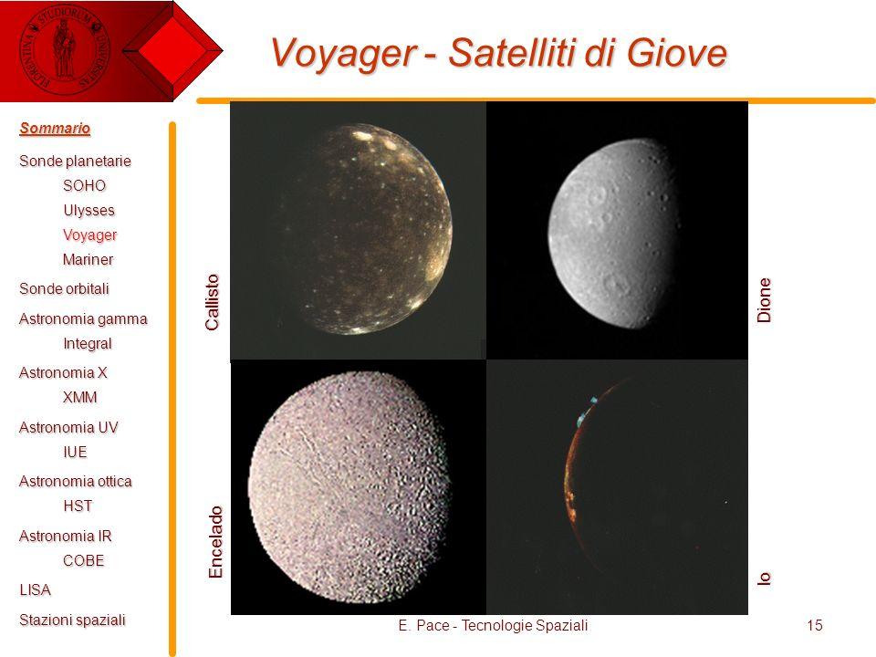 Voyager - Satelliti di Giove