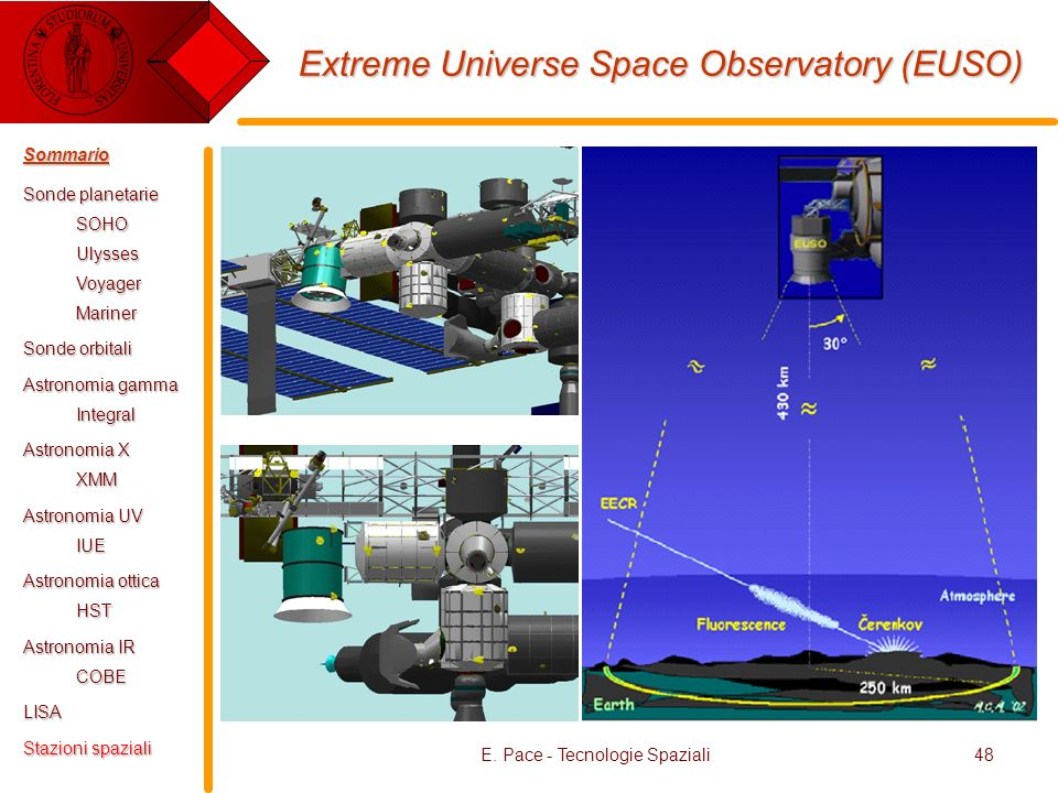 Extreme Universe Space Observatory (EUSO)