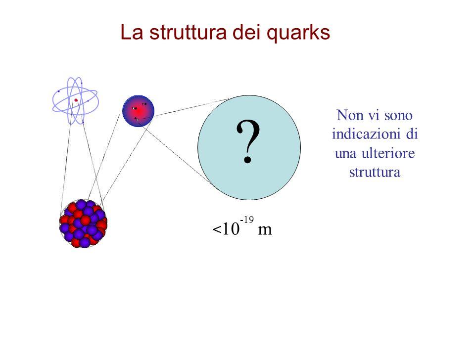 La struttura dei quarks