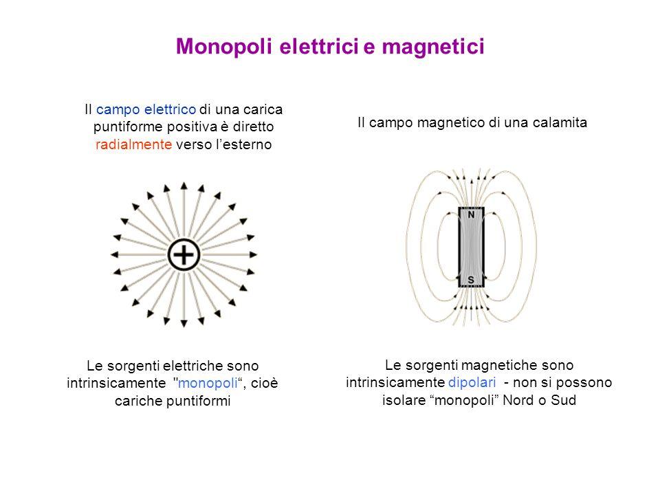 Monopoli elettrici e magnetici
