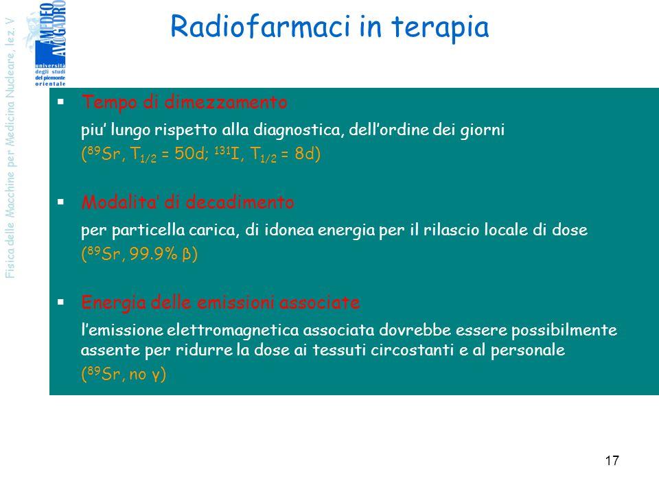 Radiofarmaci in terapia