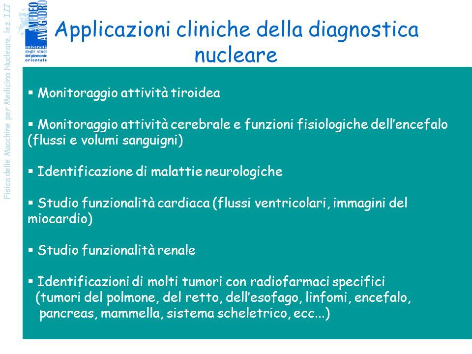 Applicazioni cliniche della diagnostica nucleare