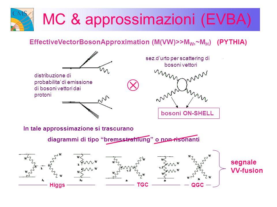 MC & approssimazioni (EVBA)