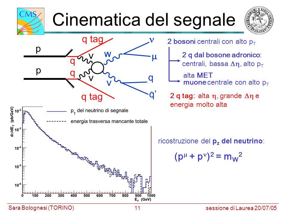 Cinematica del segnale