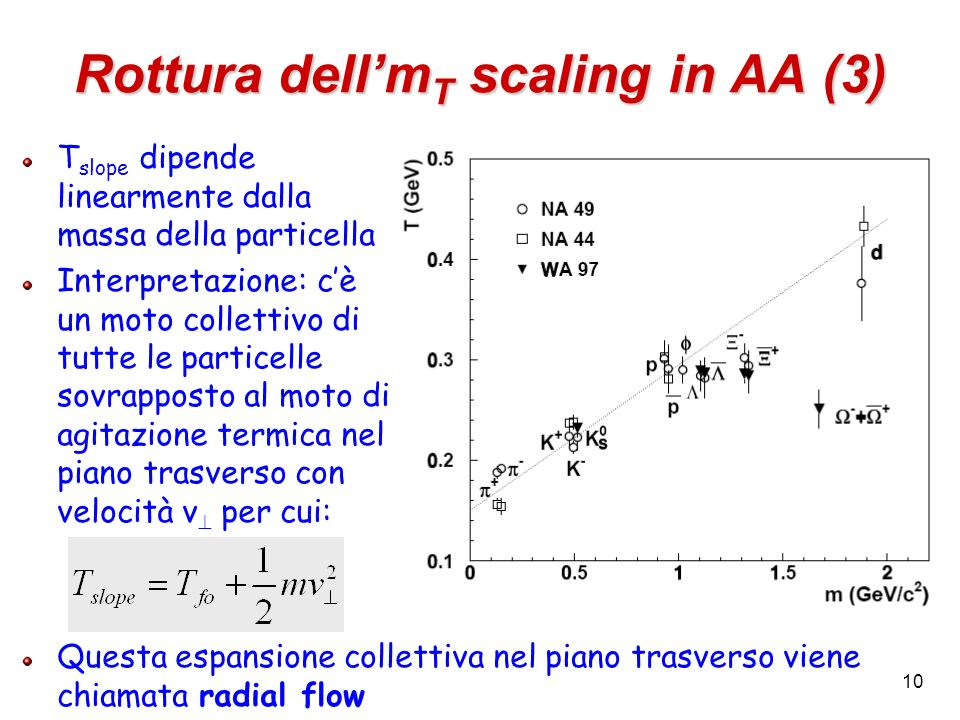 Rottura dell'mT scaling in AA (3)