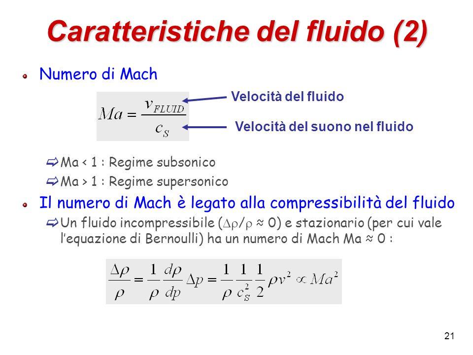 Caratteristiche del fluido (2)